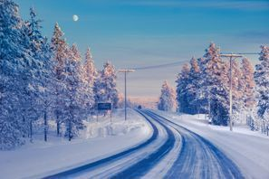 Autovermietung Ivalo, Finnland