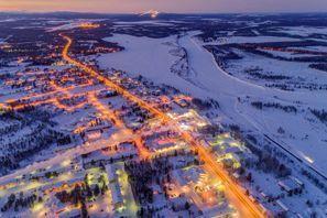 Autovermietung Kittila, Finnland