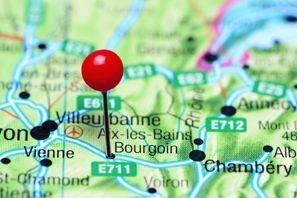 Autovermietung Bourgoin Jallieu, Frankreich