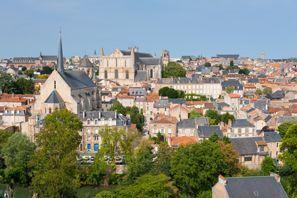 Autovermietung Poitiers, Frankreich