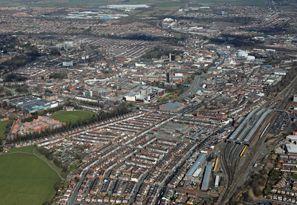 Autovermietung Darlington, Großbritannien