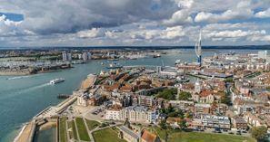 Autovermietung Portsmouth, Großbritannien